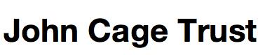 the John Cage Trust