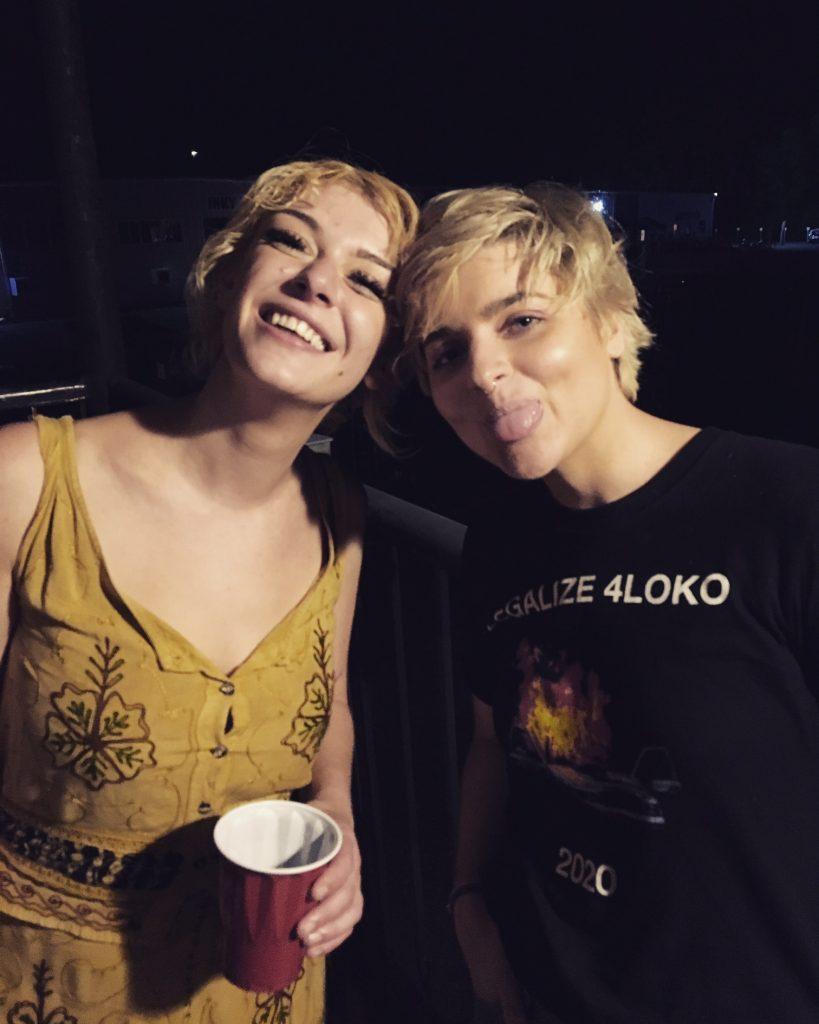 Amy Rose Spiegel and Darcie Wilder by Brandon Stosuy