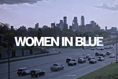 Basilica Non-Fiction Screening  Series at the Greenville Drive-In: WOMEN IN BLUE